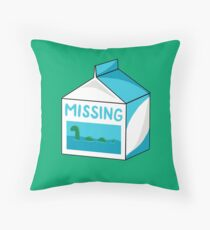 Missing Throw Pillow