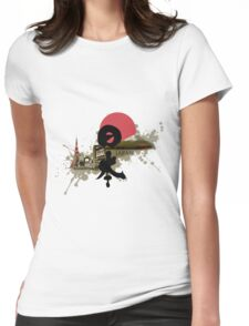 Nippon - Modern and Traditional Japan Montage Womens Fitted T-Shirt