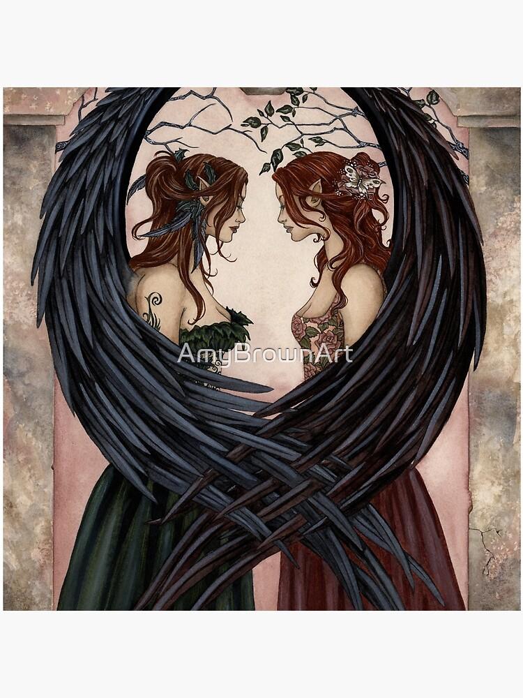 Sisters by AmyBrownArt