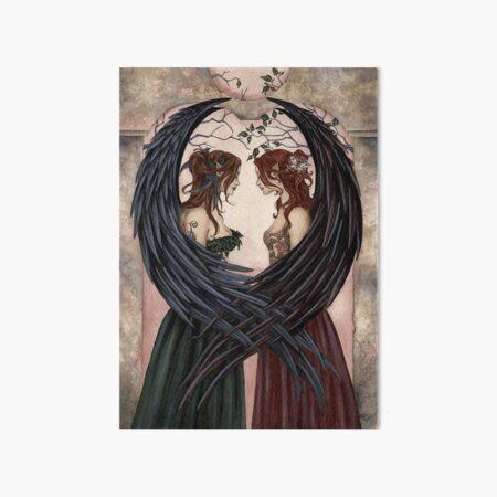 Sisters Art Board Print