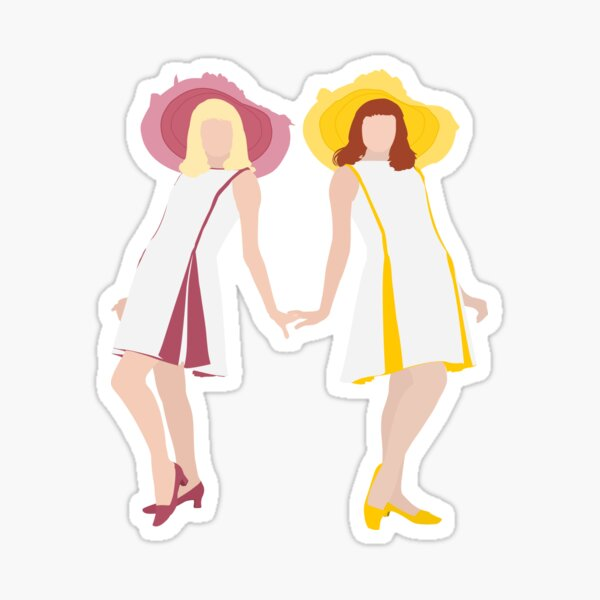 The Gemini Twins of Rochefort Sticker