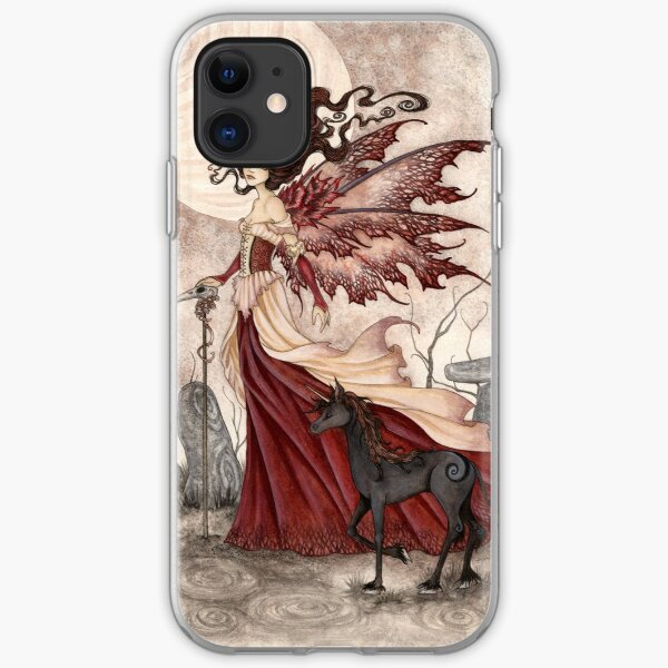 The Red Queen iPhone Soft Case