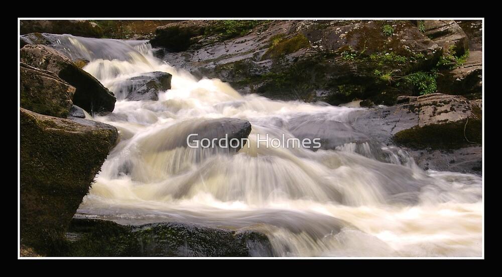 Falls of Dochart, Killin,Scotland by Gordon Holmes