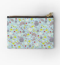 Rats and Mice in Blue Zipper Pouch