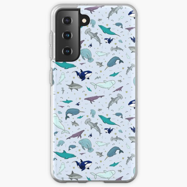 Ocean in Blue Samsung Galaxy Soft Case