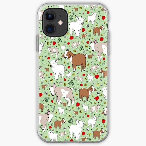Goats iPhone Soft Case