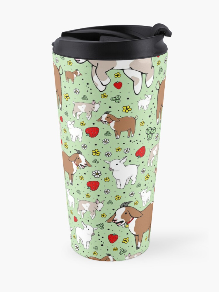 Alternate view of Goats Travel Mug