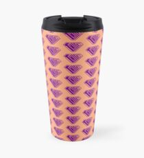 Thicc SuperEmpowered (Purple & Peach) Travel Mug