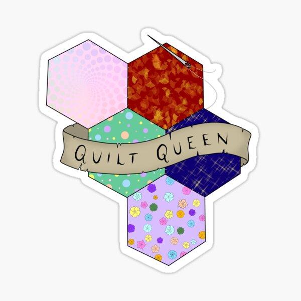 Quilt Queen Sticker