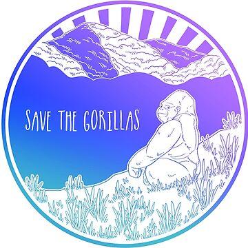 ¡Salva a los gorilas! de Chikagi