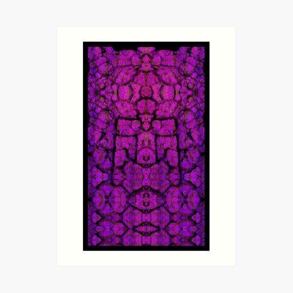 Aiahuaska Purple Dream Art Print
