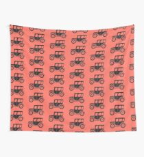 Classic Vintage Car Tapestry