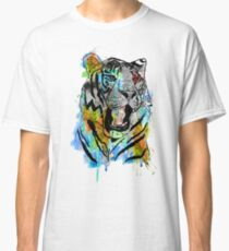 Watercolor Tiger Classic T-Shirt