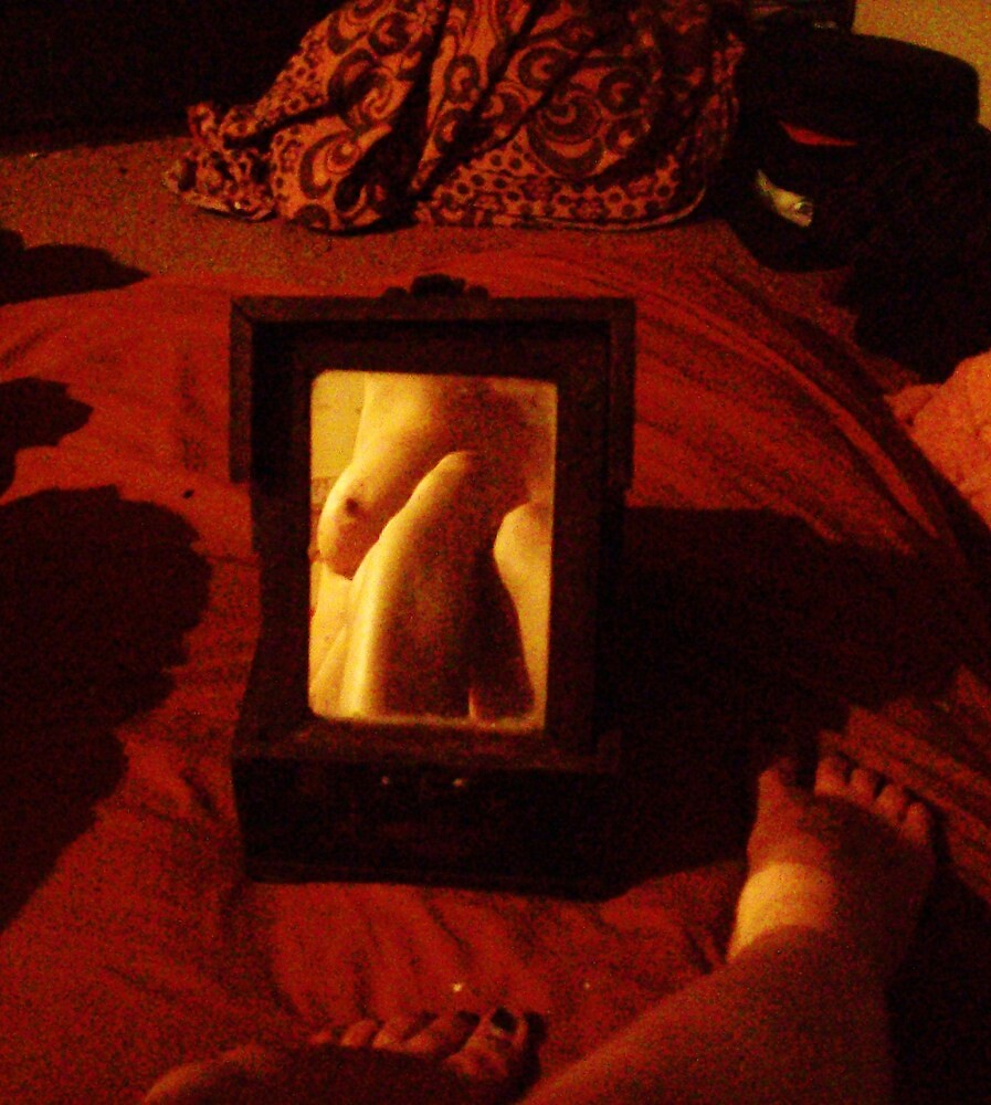 Mirror, Mirror, If I Broke You Would I Lose My Reflection? by Fuschia