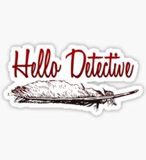 Hallo Detektiv Sticker