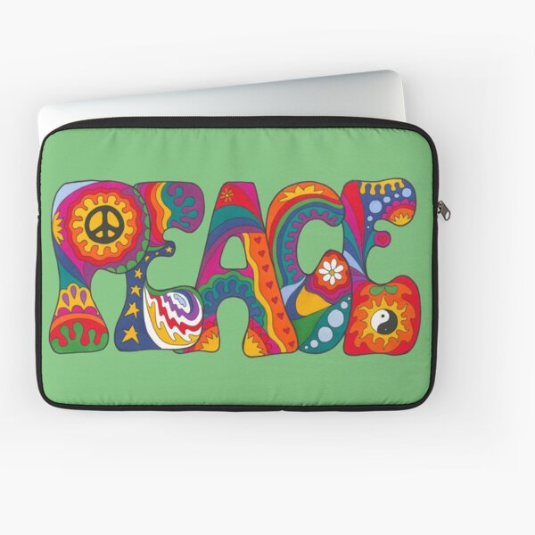 Psychedelic Peace Laptop Sleeve