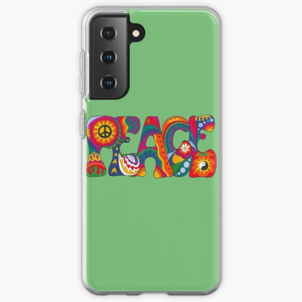 Psychedelic Peace Samsung Galaxy Soft Case