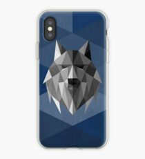 Vinilo o funda para iPhone Lobo del norte