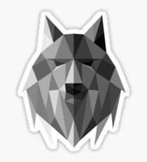 Wolf of The North Sticker