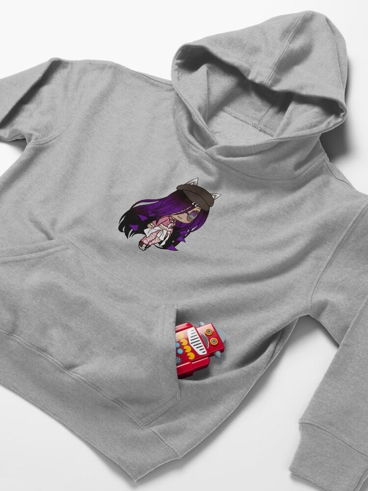 Alternate view of Cute Gacha Series Girl - Emma Kids Pullover Hoodie