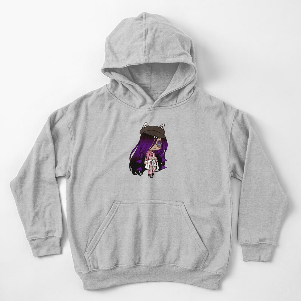Cute Gacha Series Girl - Emma Kids Pullover Hoodie