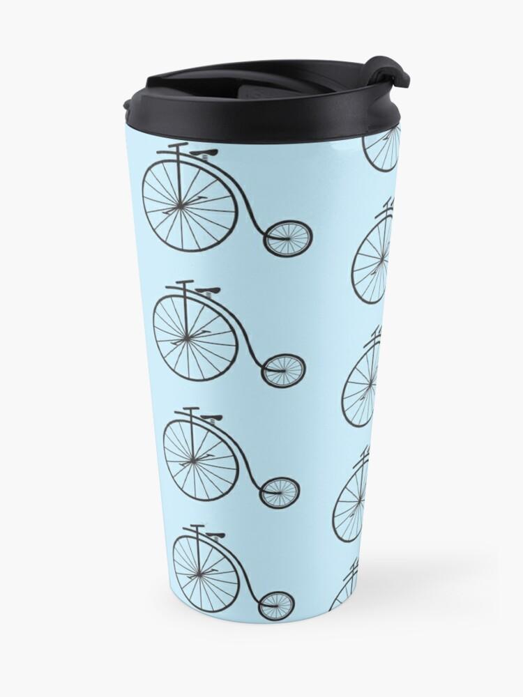 Alternate view of Penny Farthing Bicycle Travel Mug
