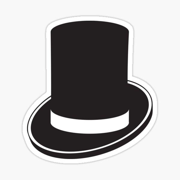 Top Hat Sticker