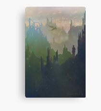 Dragon Valley Canvas Print