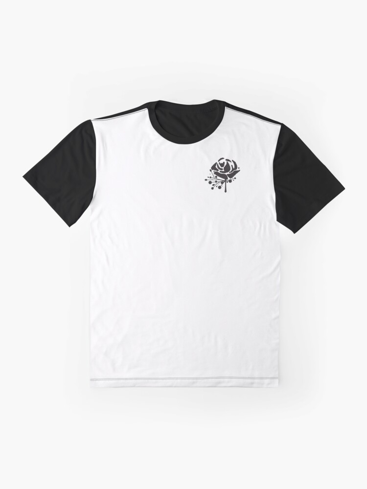 Alternate view of Carnation Buttonhole Flower Graphic T-Shirt