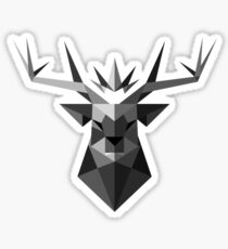 The Crowned Stag Sticker