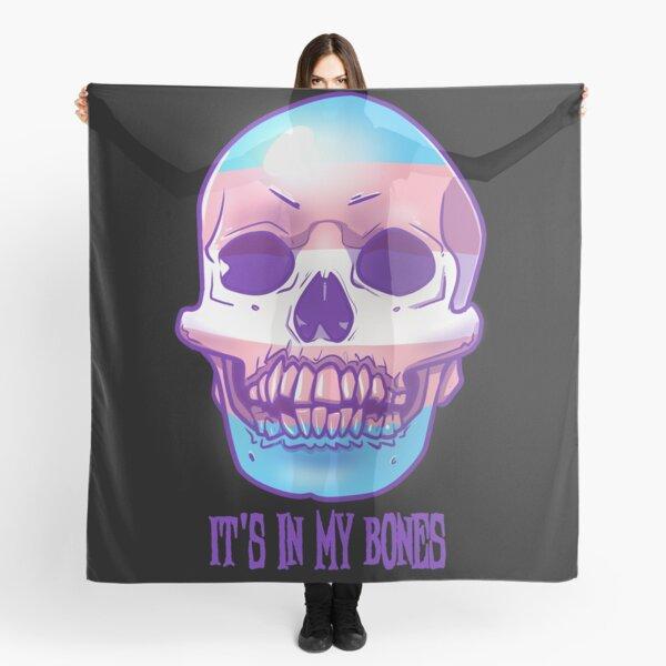 Trans Pride: It's In My Bones Scarf