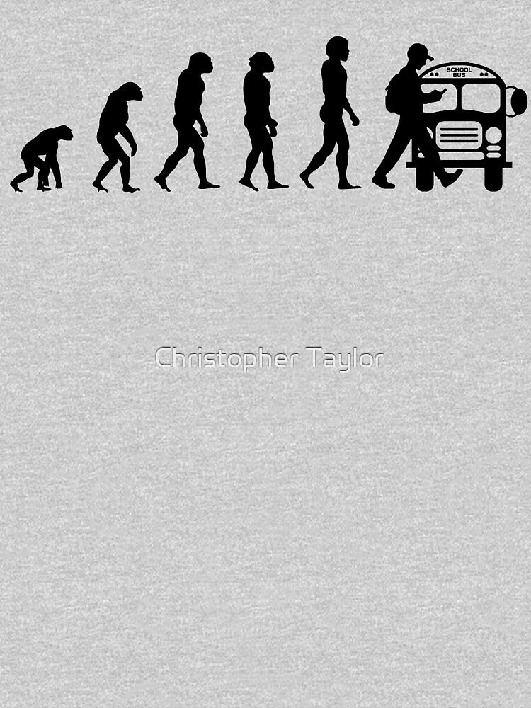 Vom Affen zum Telefonabhängigen in der Evolution der Menschheit von ctaylorscs