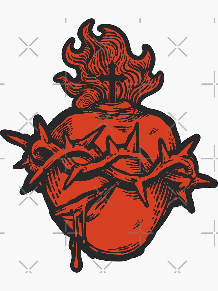 Sacred Heart of Jesus by BaritusCatholic