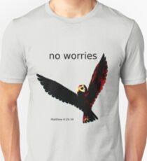 No Worries (Bird Design) Unisex T-Shirt