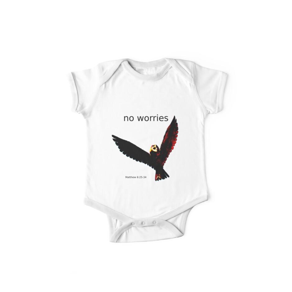 No Worries (Bird Design) by Samantha Higgs