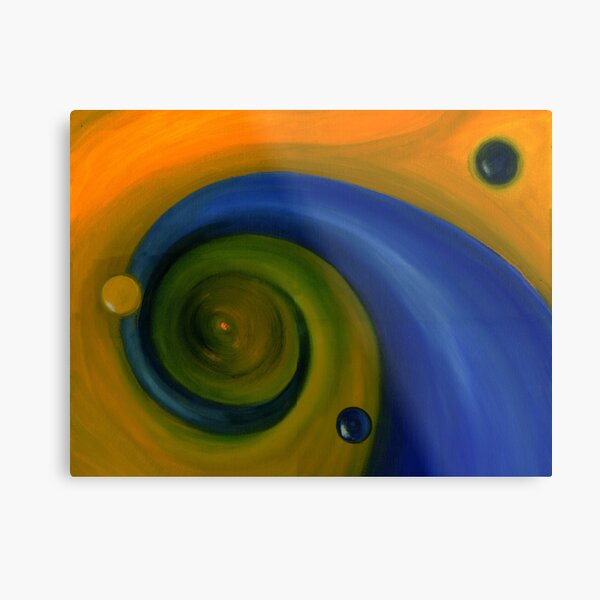 Two Drops in evolution - Stage III Metal Print