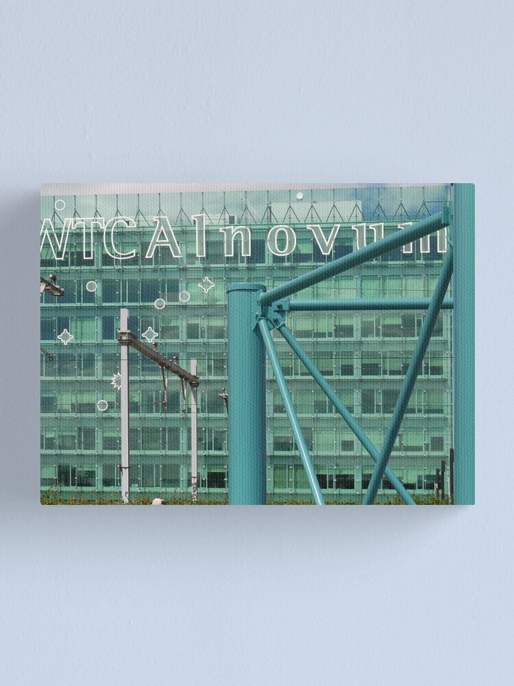 Alternate view of WTC Alnovum - filtered Canvas Print