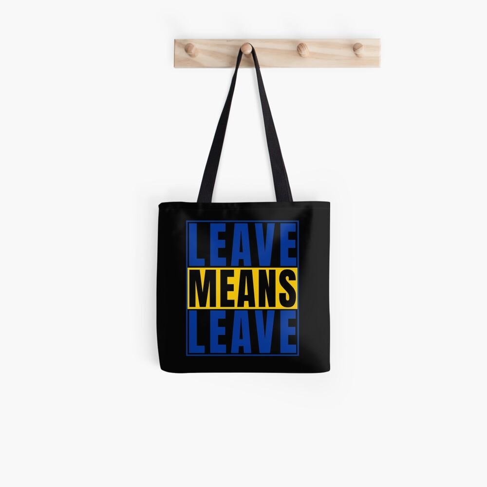 Mittel verlassen Grafik verlassen EU-Druck verlassen Tote Bag
