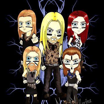 Mini Ensiferum One Man Army by metalmellorine