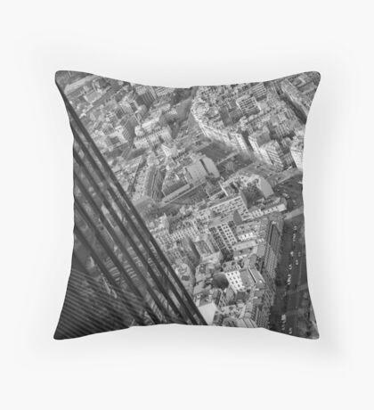 Montparnasse tower Throw Pillow