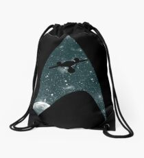 Space the final frontier Drawstring Bag