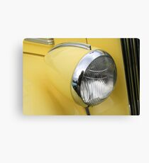 """Headlight"" Canvas Print"
