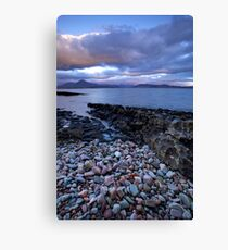 Dawn at Broadford Bay, Scotland Canvas Print