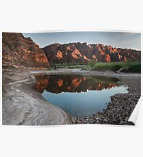 Purnululu Waterscape Poster
