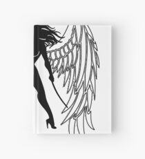 The Shadow Empire Black and white Hardcover Journal