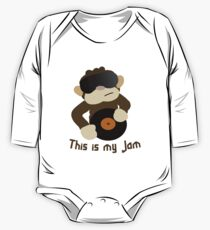 This is my Jam One Piece - Long Sleeve
