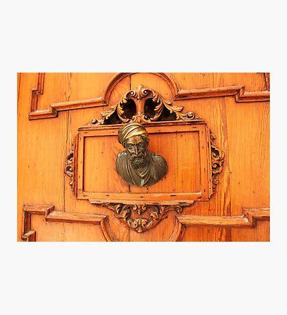Venetian door Photographic Print