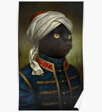 The Hermitage Court Moor Cat Poster