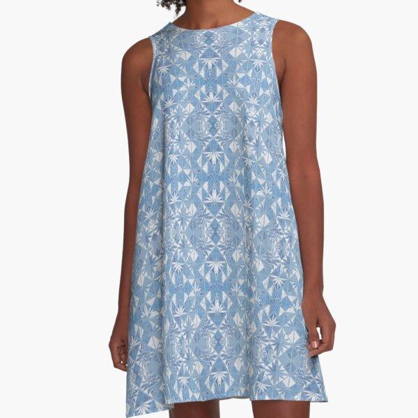 DENIM DORA A-Line Dress
