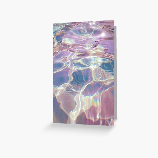 Holographic trippy Greeting Card